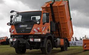 Картинка Mercedes-Benz, грузовик, кузов, спецтехника, Unimog, U20