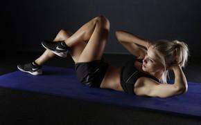Обои fitness, abs, workout