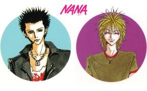 Картинка улыбка, куртка, сигарета, парни, цепочка, art, ai yazawa, nana, ren honjo, НАНА, naoki fujieda