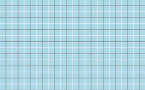 Обои линии, белый, голубой, текстура, серый, клетки, квадраты