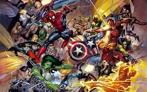 Обои fantasy, comic, Marvel