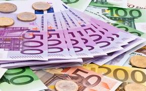 Картинка деньги, евро, Euro, валюта