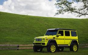 Картинка Mercedes, HRE, 4X4, G550, TR188