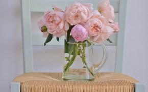 Картинка розы, букет, кувшин