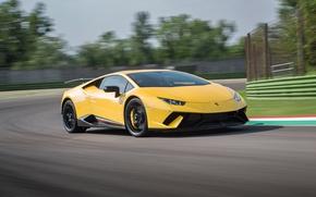 Картинка Lamborghini, race, speed, Huracan, Huracan Performante, Lamborghini Huracan Performante