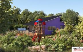 Картинка растительность, строение, площадка, corona, property