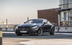Обои авто, тюнинг, Mercedes-Benz, мерседес, Prior-Design, C217, PD990SC