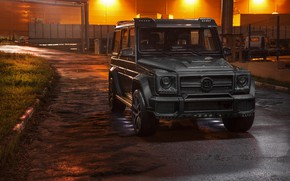Обои Mercedes, AMG, Evening, G63, Carbon, W463