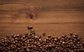 Обои coffee, кофе, дерево