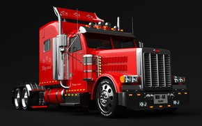 Картинка машина, транспорт, техника, автомобиль, Big Bill Truck