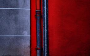 Картинка дом, стена, труба