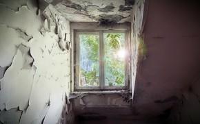 Картинка дом, фон, окно