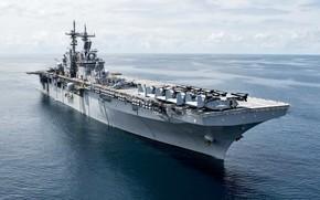 Картинка USS Kearsarge, amphibious assault ship, LHD 3