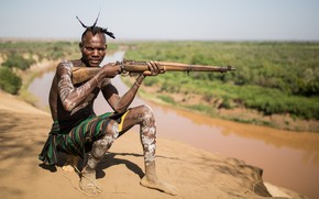 Картинка оружие, армия, солдат, Etiopia