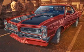 Обои дизайн, автомобиль, Pontiac GTO
