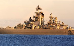 Картинка крейсер, атомный, проект 1144, петр великий