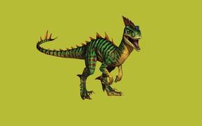 Картинка динозавр, хищник, пасть, хвост, ящер, клыки, раскрас