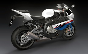 Обои Супербайк, S1000, спортивный мотоцикл, BMW, арт, dangeruss