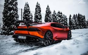 Обои tuning, Lamborghini, Huracan, Z Performance