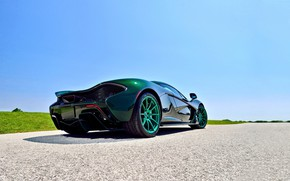 Обои Supercar, Green, Mclaren, 2014