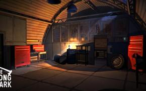 Картинка Ночь, Гараж, Night, Garage, Hinterland Studio, The Long Dark, Indie game