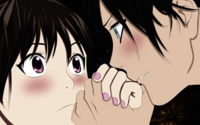 Картинка аниме, арт, Бездомный Бог, Yato, Noragami, Ято, Хиёри