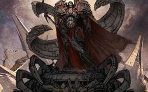 Обои Odin, воин, меч