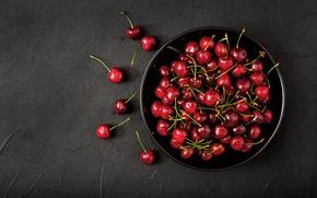 Обои ягоды, fresh, черешня, cherry, berries