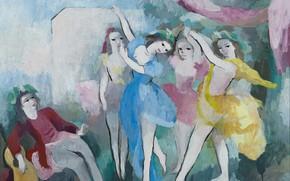 Картинка гитара, 1939, Модерн, Мари Лорансен, Танцующие
