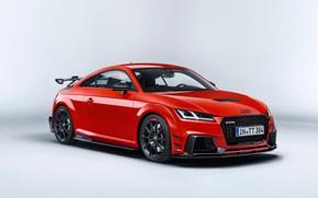Картинка car, Audi, red, logo, Audi TT RS