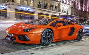 Картинка Авто, Lamborghini, Ламборджини, Суперкар, Aventador, LP 700-4