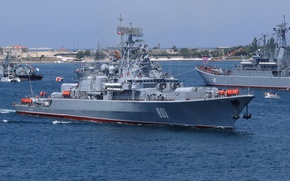 Картинка корабль, ВМФ, Севастополь, сторожевой, проект 1135, Ладный