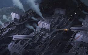 Картинка сооружение, пар, Industrial District