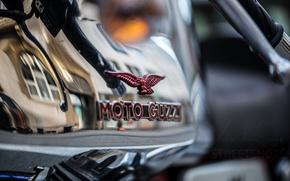 Картинка макро, фон, Moto guzzi