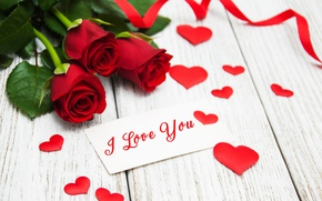 Обои розы, red, love, бутоны, i love you, heart, flowers, romantic, roses, красные розы, valentine`s day