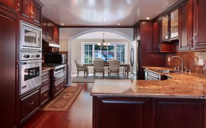 Картинка стол, кухня, гостиная