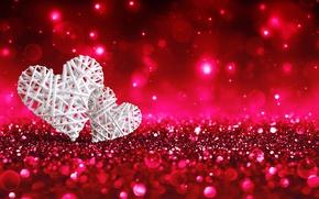 Картинка блеск, сердечки, love, hearts, valentine's day, rockvillephoto