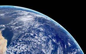 Обои космос, Digital Universe, планета, панорама, Earth Panorama, Земля