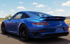 Картинка Porsche 911, Turbo S, Forza Horizon 3