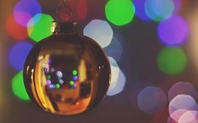 Картинка игрушка, новый год, рождество, шарик