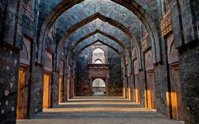 Обои замок, Индия, руины, Мадхья-Прадеш, Манду