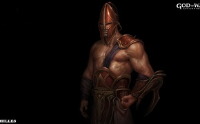Картинка game, armor, God of War, hero, God, strong, muscular, God of War Ascension, Achilles, Mythological …
