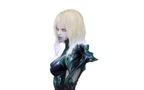 Картинка девушка, лицо, волосы, профиль