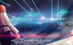 Картинка небо, девушка, облака, Fate / Grand Order