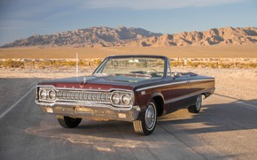 Обои 1965, Convertible, 880, Dodge Custom