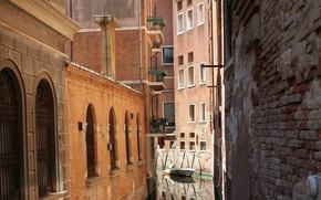 Картинка Канал, Италия, Венеция, Italy, Venice, Italia, Venezia, Canal