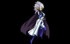 Картинка demon, devil, big, anime, manga, japanese, Fairy Tail, oppai, powerful, strong, horn, oni, mahou, Mirajane …