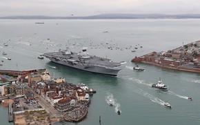Картинка оружие, армия, HMS Queen Elizabeth