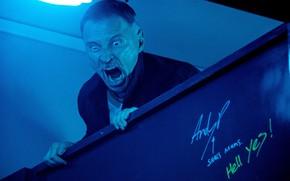 Картинка cinema, blue, man, movie, film, Robert Carlyle, Trainspotting, T2 Trainspotting