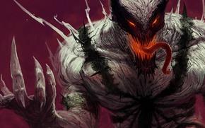 Картинка комиксы, Marvel, Anti-Venom, Анти-Веном, симбиот